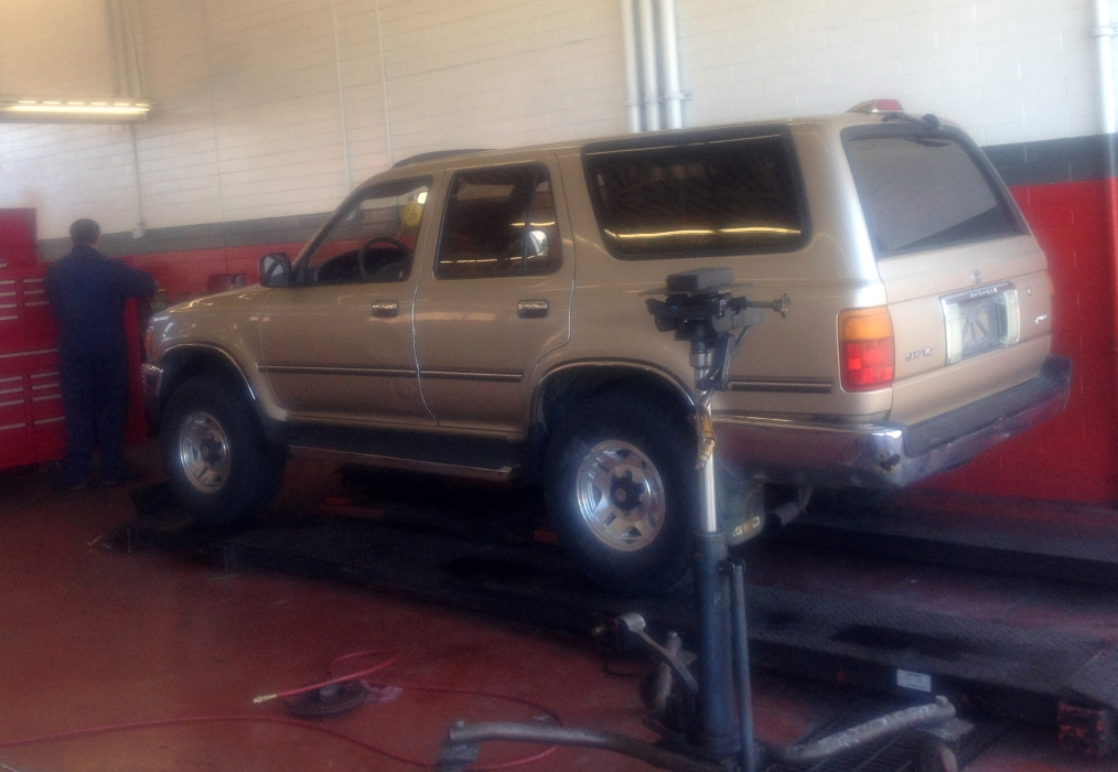 This photo shows a 1995 Toyota 4Runner